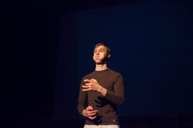 Thespian Play in Lausanne at festival Les Urbainnes, Dec. 2013