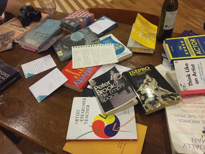 The collected books of the pop-up
